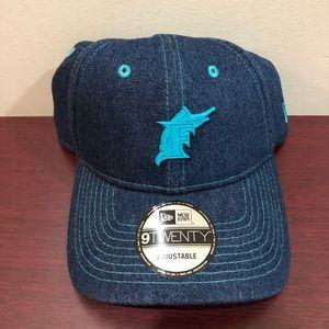New Era 9Twenty Adjustable Hat, Florida Marlins